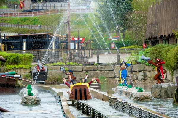 Atracciones del parque Legoland Windsor