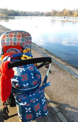 Londres con un bebé de paseo por Hyde Park