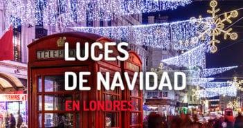 ENCIENDIDO LUCES DE NAVIDAD LONDRES