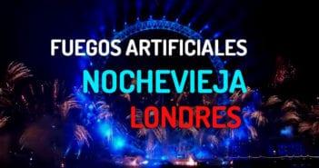 FUEGOS ARTIFICIALES NOCHEVIEJA EN LONDRES
