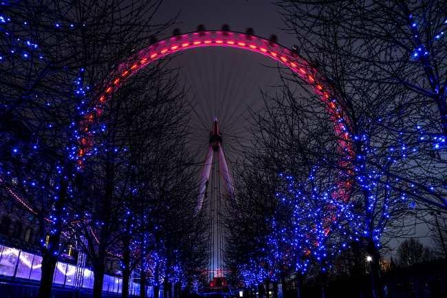 tres días en Londres en navidad