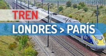 Cómo ir de Londres a París en tren