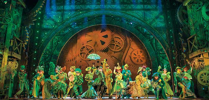 Escena del Musical de Wicked en Londres