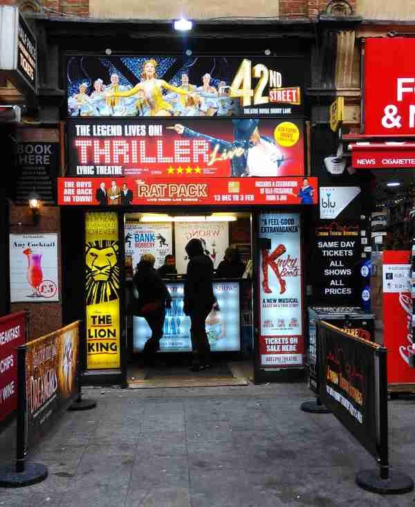 entradas baratas para musicales en Londres