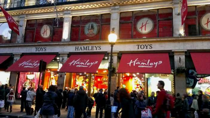 Hamleys en Londres