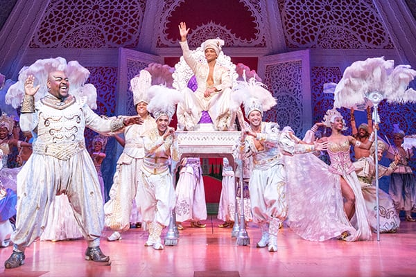 Musical de Aladdin en Londres