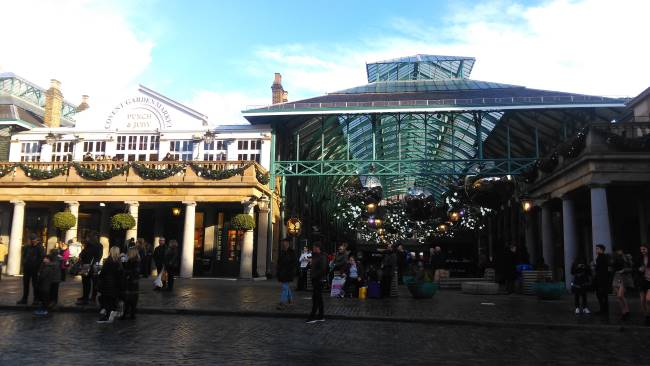 Plaza de Covent Garden en Londres