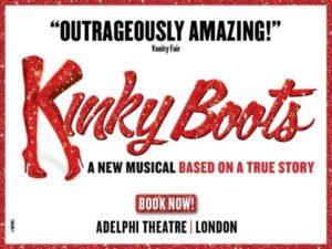 Entradas Kinky Boots Londres