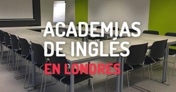 Academias de Inglés en Londres