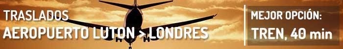 Traslados Aeropuerto de Luton a Londres