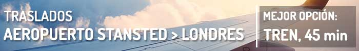 Traslados Aeropuerto de Stansted a Londres