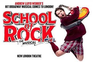 musicales en Londres: School of Rock