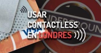 usar contactless metro de Londres
