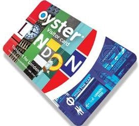 Visitor oyster card de Londres