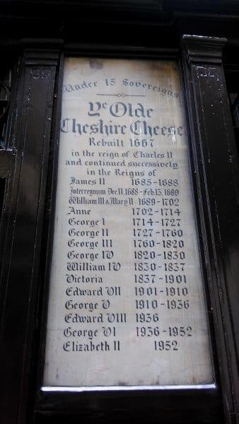 pubs históricos en Londres