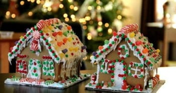 Casa de Galleta de Jengibre. Navidad en Londres.