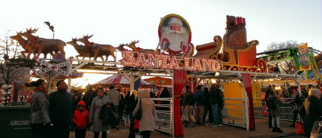 Santa Land en Winter Wonderland Londres