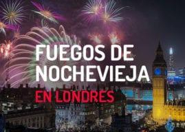 Fuegos artificiales de Nochevieja en Londres