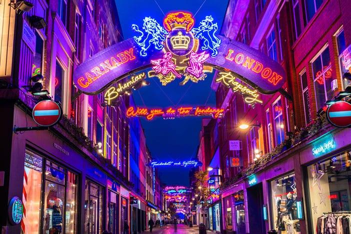 Soho Londres Carnaby Street