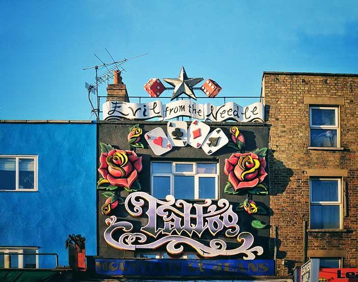 Tiendas Camden Town