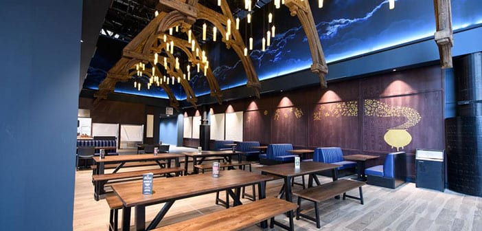 Restaurante Estudios Warner Bros Harry Potter